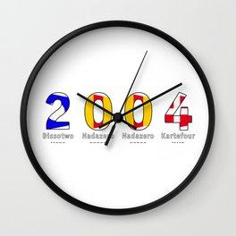 2004 - NAVY - My Year of Birth Wall Clock