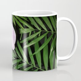 Orchids with palm leaves Coffee Mug