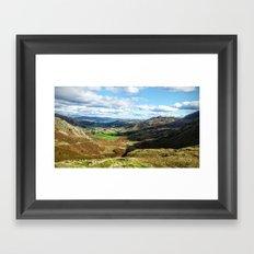 scafell pike Framed Art Print