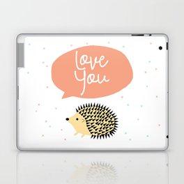 Hedgegog love Laptop & iPad Skin