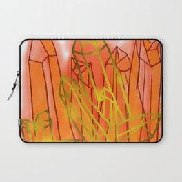Crystals - Orange Laptop Sleeve