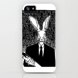 Jack Rabbit iPhone Case
