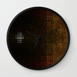 Behind the science Wall Clock