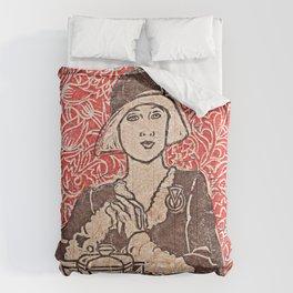 Paris Cafe Comforters