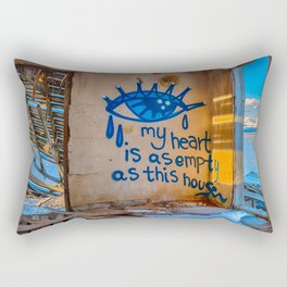 My Heart Is As Empty As This House Rectangular Pillow