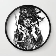 Chicana Wall Clock