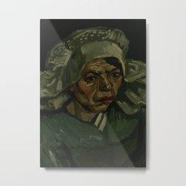 Head of a Woman Metal Print