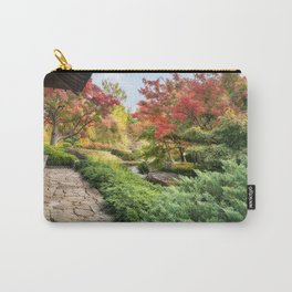Spectacular autumn foliage at Koko-en Garden in Himeji, Japan. Carry-All Pouch
