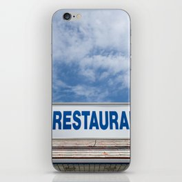Open 24 Hours. iPhone Skin