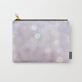 Bokeh Series - English Lavender Carry-All Pouch