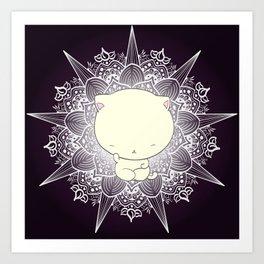 Abhaya Mudra Art Print