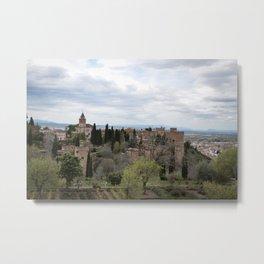 View Toward Alhambra Metal Print