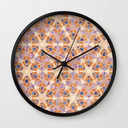 A Kaleidoscopic Fantasy Wall Clock