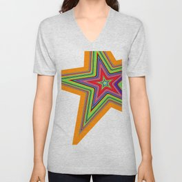 Star Child Unisex V-Neck
