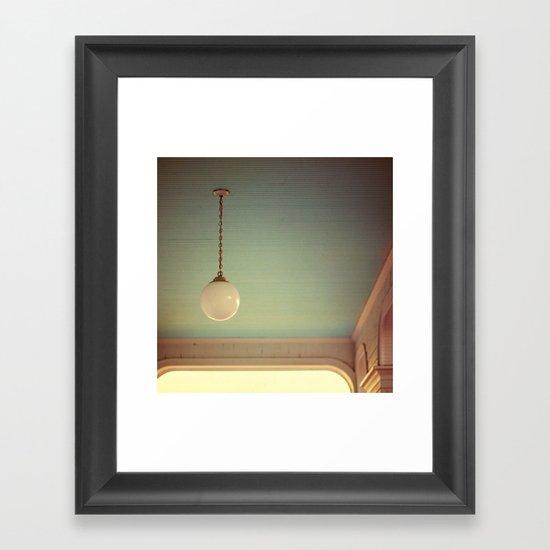 Pendant: Sunrise Edition Framed Art Print