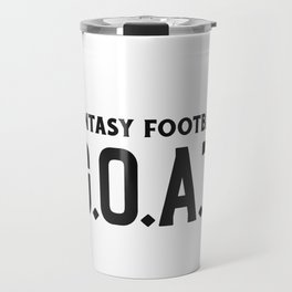 Fantasy Football GOAT Travel Mug