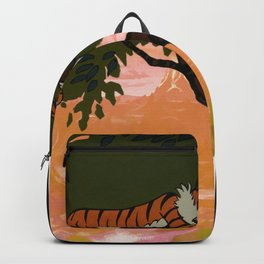 relax in shady trees Backpack