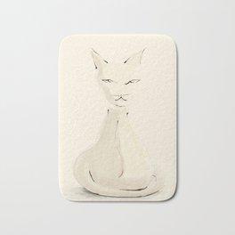 Kitty, sketch Bath Mat