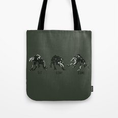 Commands to Conquer - Halo Tote Bag