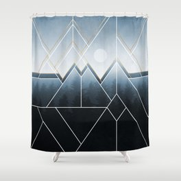 Fading North Shower Curtain