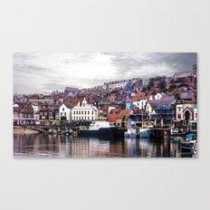 The Harbour Scarborough Canvas Print