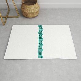 Great for all occassions Inclusion Tee Got logical Inclusion Rug