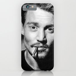 Dear Mr. Depp iPhone Case
