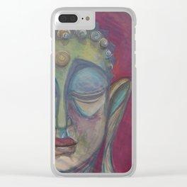 Gautama Buddha Clear iPhone Case