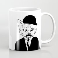 tintin Mugs featuring Thomson and Thompson by Hannighan