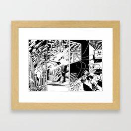 Power out Framed Art Print
