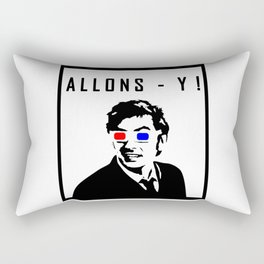 Doctor Who - Allons - Y! Rectangular Pillow
