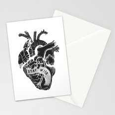 Heart (stay wild) Stationery Cards
