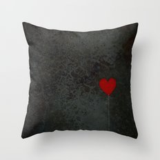 I heart balloons Throw Pillow