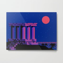 The  Lost  Sanctuary  of  Delphi Metal Print