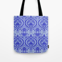 Simple Ogee Blue Tote Bag