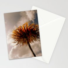 The world is just a little town Stationery Cards