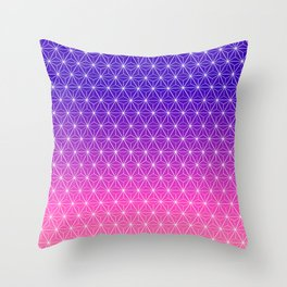 Reflections of Earth Throw Pillow