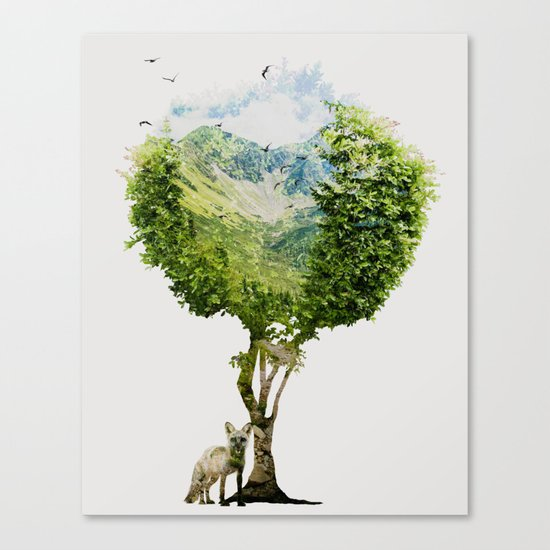 I need more nature Canvas Print
