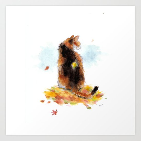 cat 004 Art Print