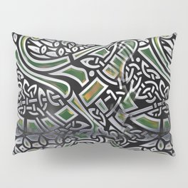 Celtic Birds Knot Work 3D Pillow Sham