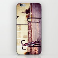 Abandoned bike iPhone & iPod Skin