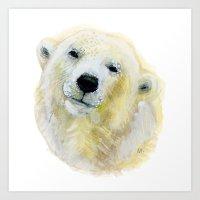 Polar Beary Art Print