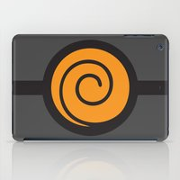 naruto iPad Cases featuring Naruto Suit by bivisual
