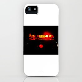 Night lights in Tokyo iPhone Case