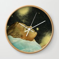 The sleeper Wall Clock