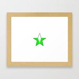 Flag of nigeria 4 -nigeria, nigerian,africa,hausa,igbo,Yoruba,Naira,Lagos,Kano Framed Art Print