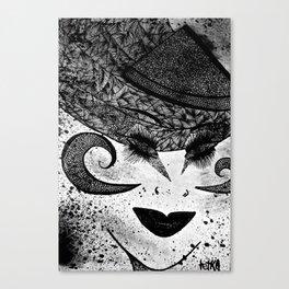 Miss Aries tetkaART Canvas Print