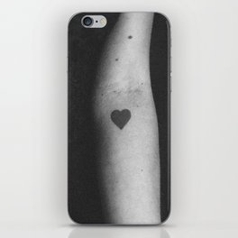 heart me iPhone Skin