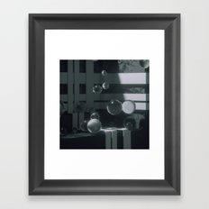 170111 / freezer Framed Art Print