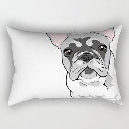 Jersey the French Bulldog Rectangular Pillow